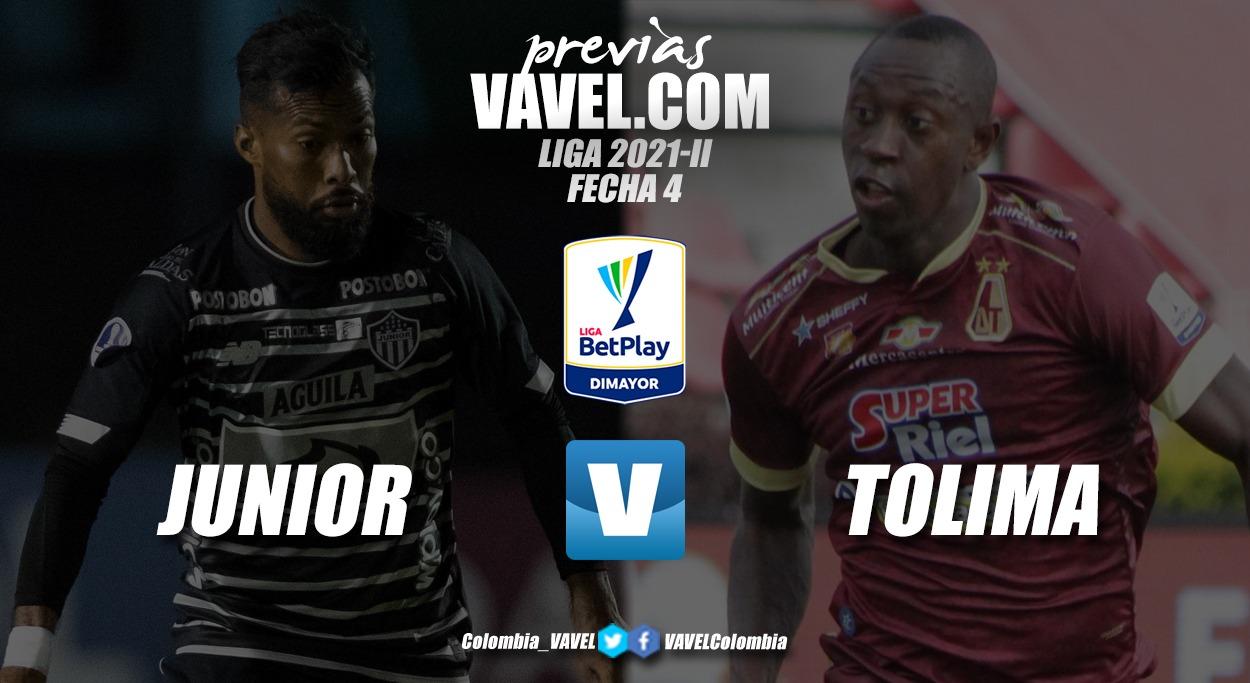 Previa Junior de Barranquilla vs Deportes Tolima: duelo por no perderle pisada a los punteros