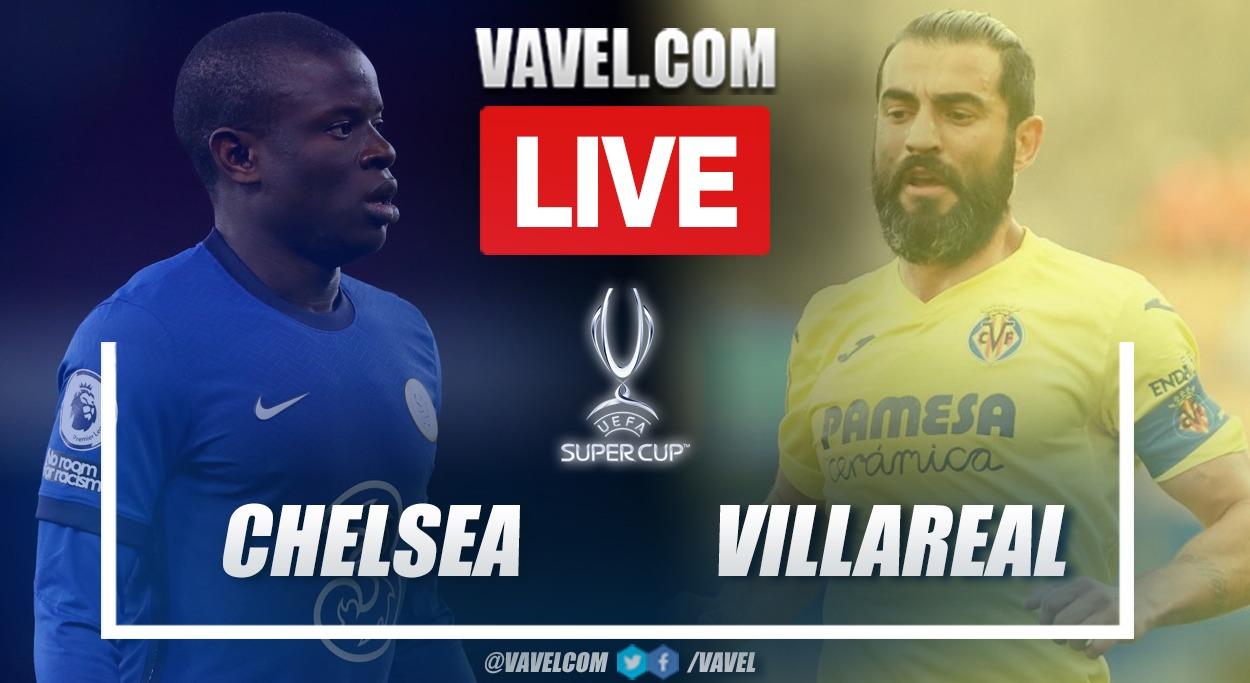 Highlights: Chelsea 1 (6) vs 1 (5) Villarreal in the 2021 European Supercup final