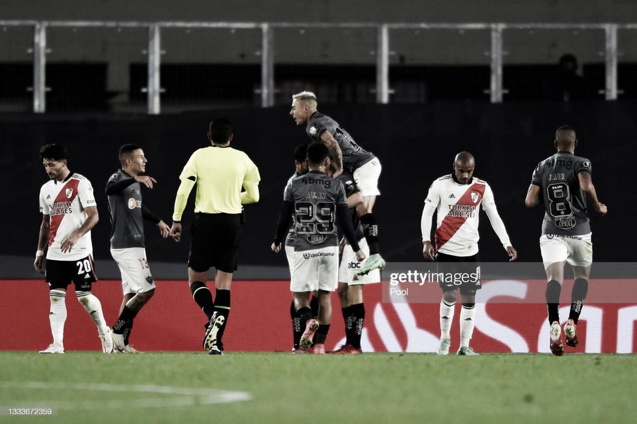 River cayó ante Mineiro.