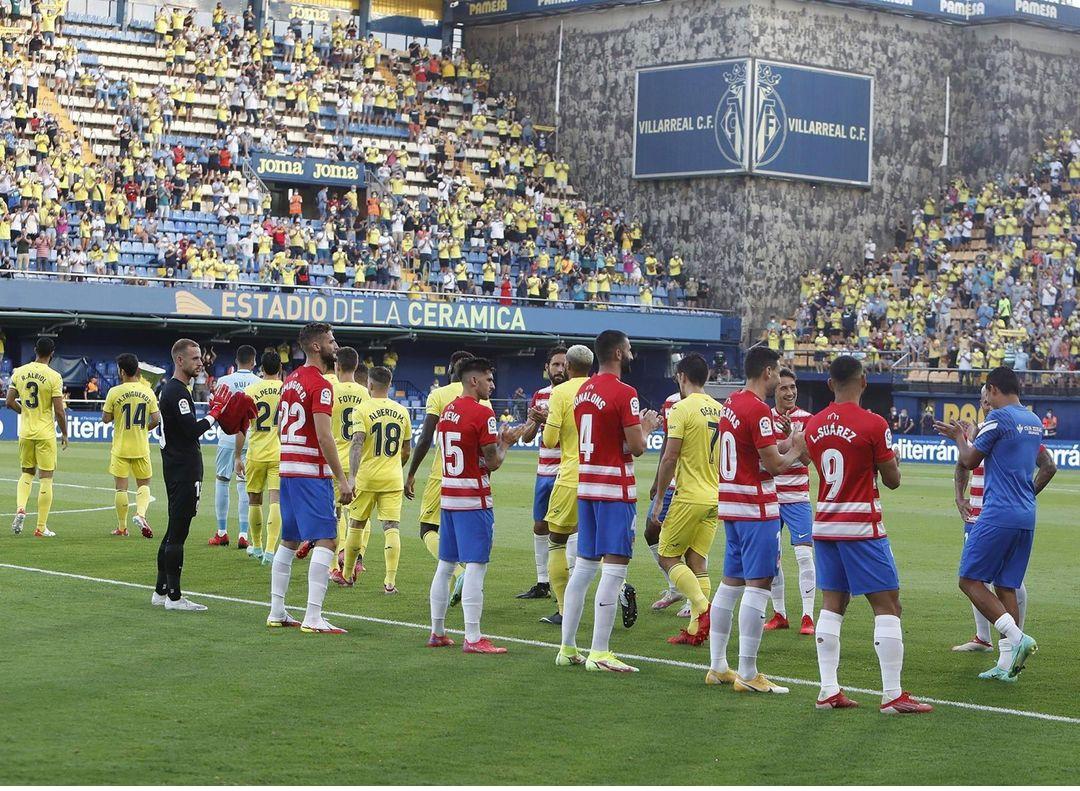 Villarreal - Granada CF: puntuaciones del Granada, jornada 1 de la Liga