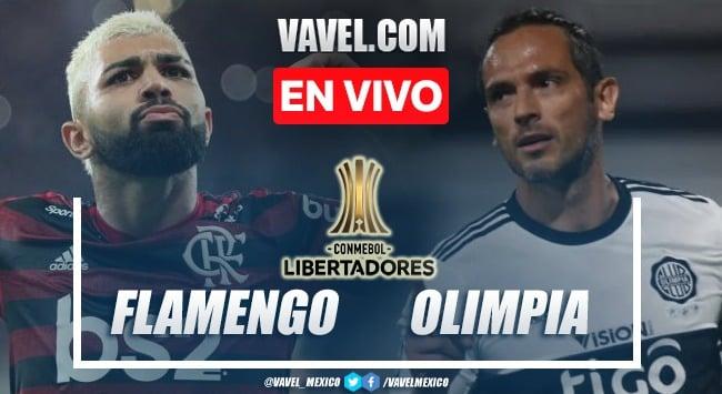 Goles y resumen del Flamengo 5-1 Olimpia en Copa Libertadores 2021