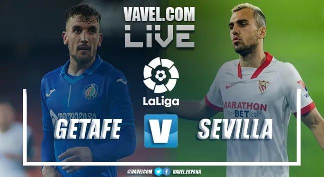 Resumen Getafe vs Sevilla en LaLiga 2021 (0-1)