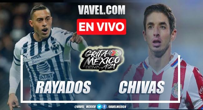 Goles y resumen del Rayados Monterrey 0-0 Chivas en Liga MX 2021