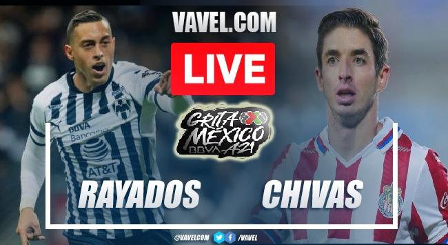 Goals and Highlights Rayados Monterrey 0-0 Chivas in Liga MX 2021