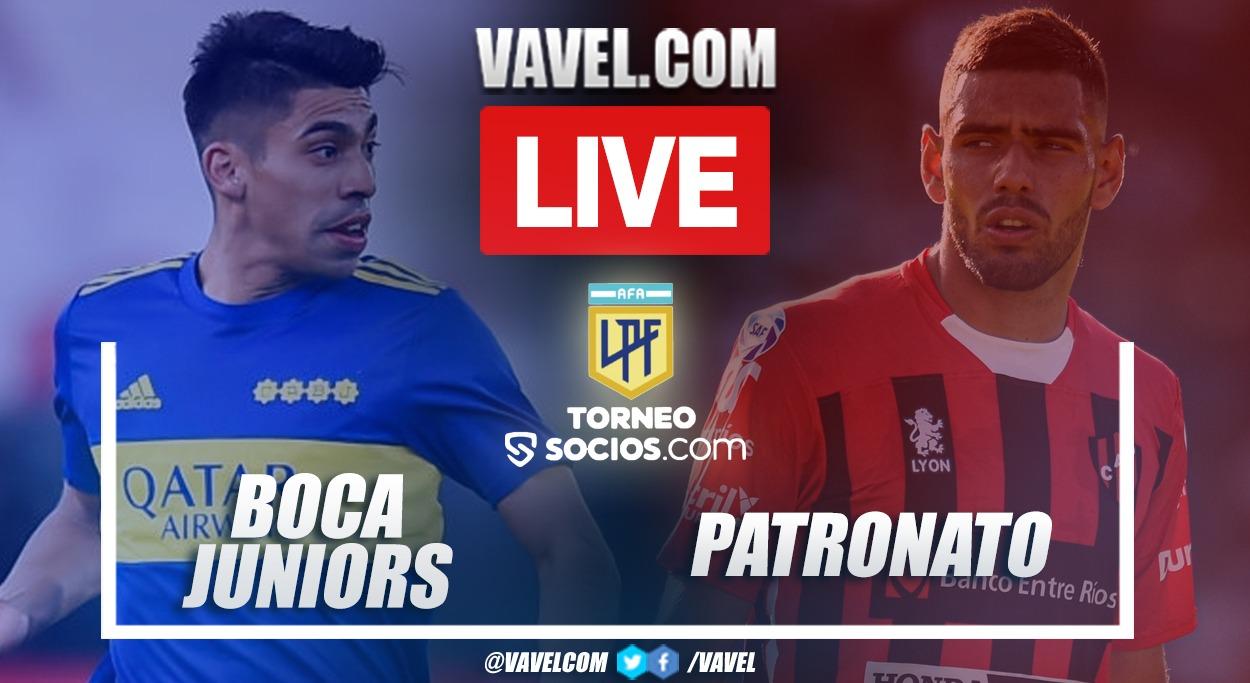 Highlights: Boca Juniors 1-0 Patronato in argentinean league 2021