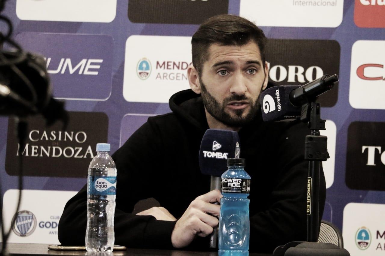 Nicolás Sánchez fue presentado en Godoy Cruz: ´´Mi próximo lugar era acá´´