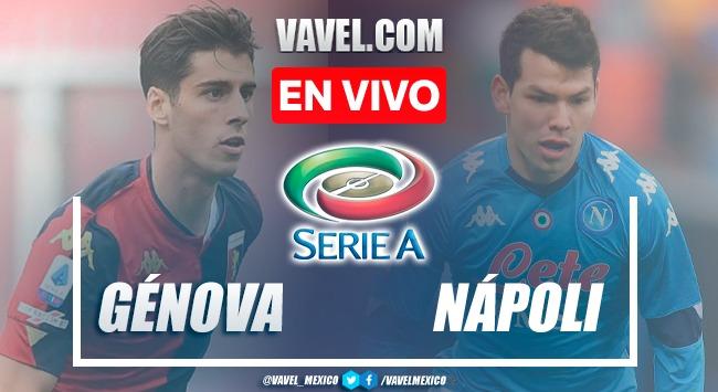 Goles y resumen del Génova 1-2 Napoli en Serie A