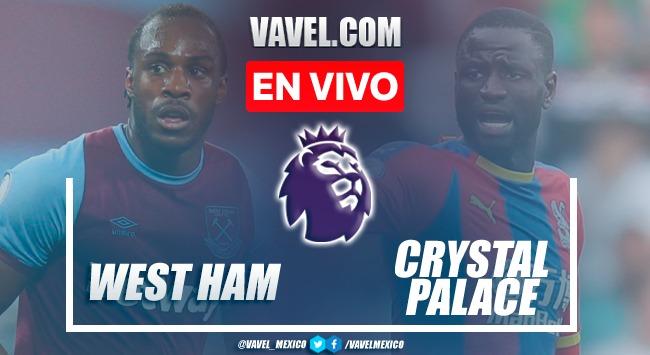 Goles y resumen del West Ham 2-2 Crystal Palace en Premier League