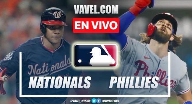 Resumen del Washington Nationals 4-7 Philadelphia Phillies en MLB 2021