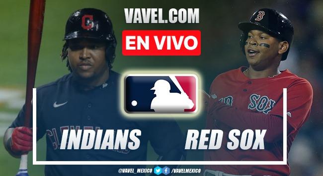 Resumen del Cleveland Indians 3-5 Boston Red Sox en MLB 2021