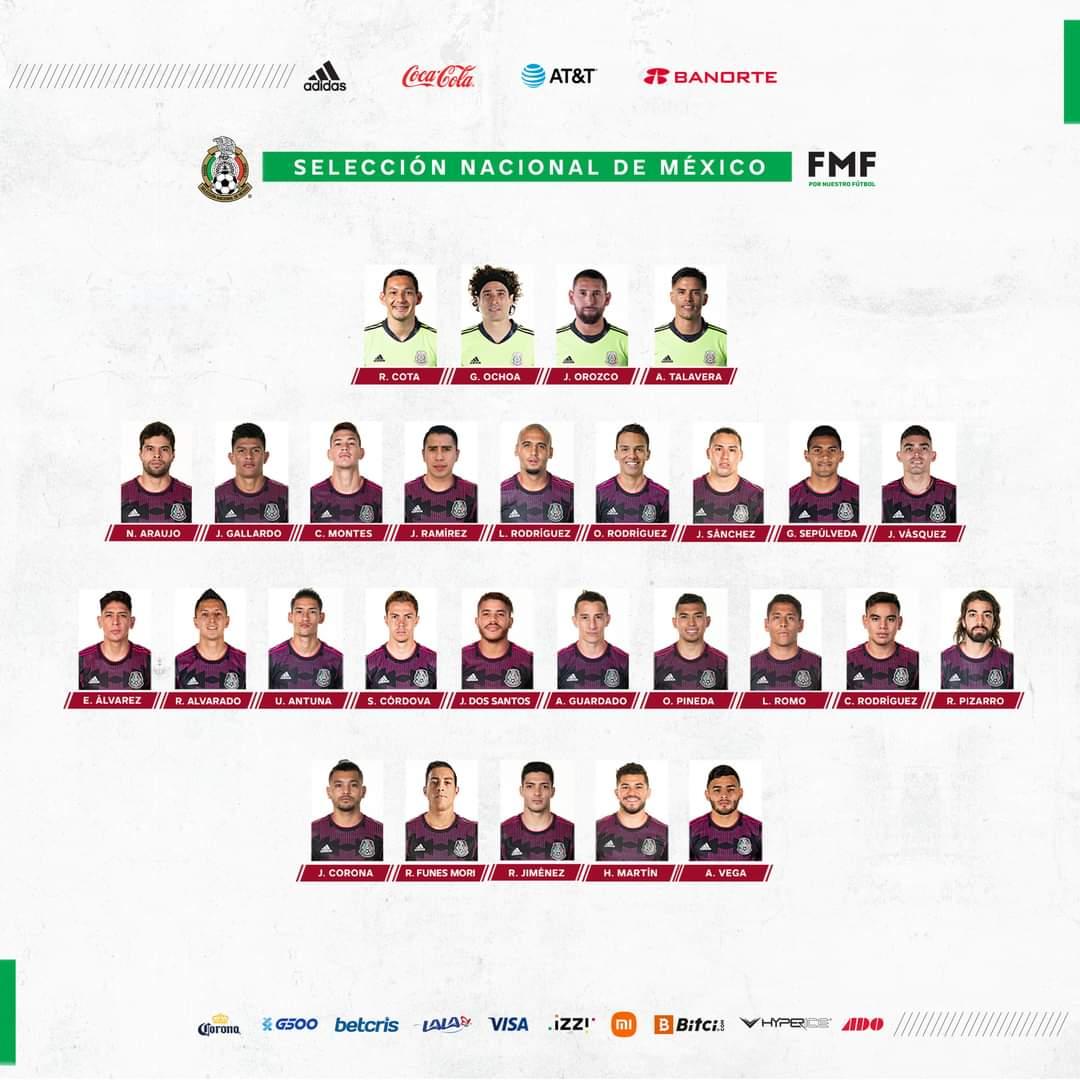 Lista la convocatoria de la Selección Mexicana rumbo a Qatar 2022