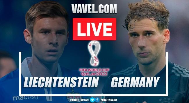 Resumen Liechtenstein vs Alemania en las eliminatorias a Qatar 2022 (0-2)