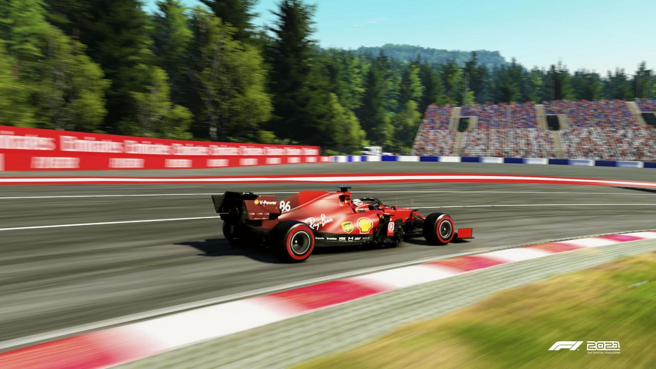 Dominio absoluto de Ferrari en Austria