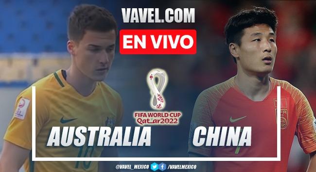 Goles y resumen del Australia 3-0 China en Eliminatorias Qatar 2022