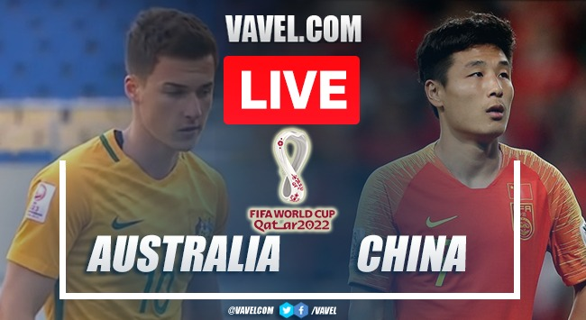 Goals and Highlights: Australia 3-0 China in 2022 World Cup Qualifiers