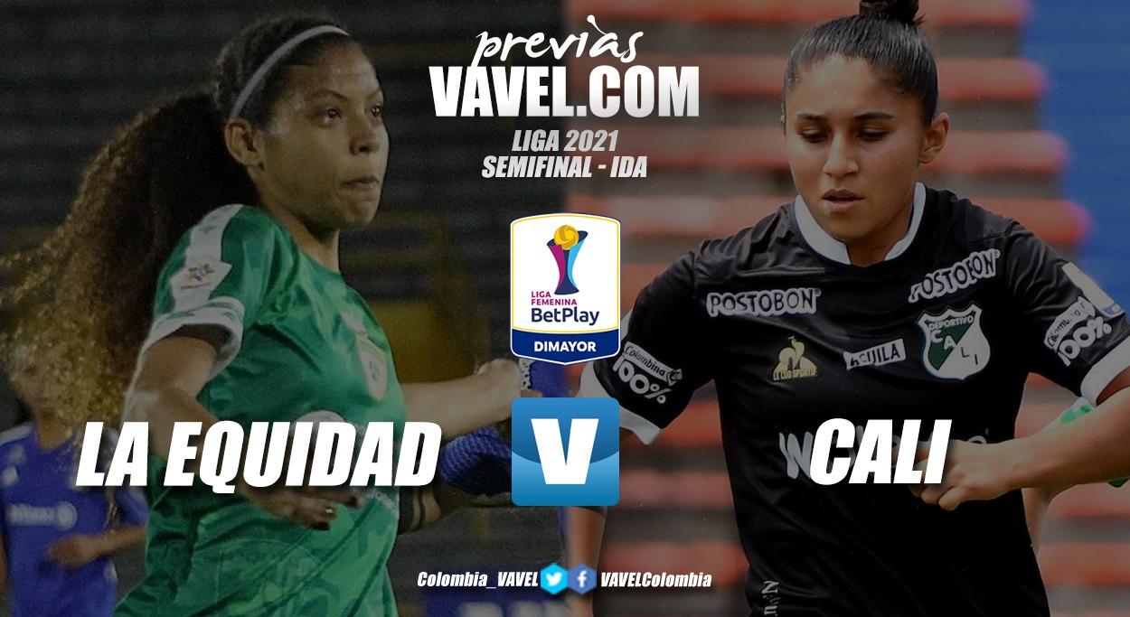 Previa Equidad vs Cali: llegó el duelo de ida en las semifinales de la liga