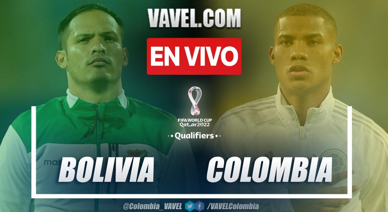 Resumen y goles Bolivia 1-1 Colombia en la fecha 9 por eliminatorias al Mundial 2022