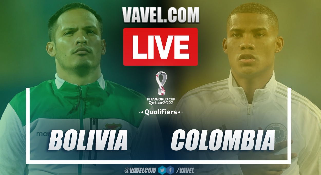 Highlights and goals: Bolivia 1-1 Colombia in 2022 World Cup Qualifiers