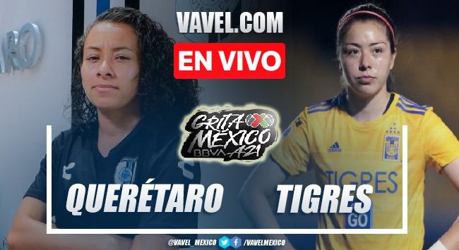 Goles y resumen del Querétaro Femenil 1-2 Tigres Femenil en Liga MX Femenil 2021