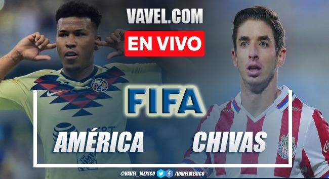 Goles y resumen del América 2-0 Chivas en partido amistoso 2021
