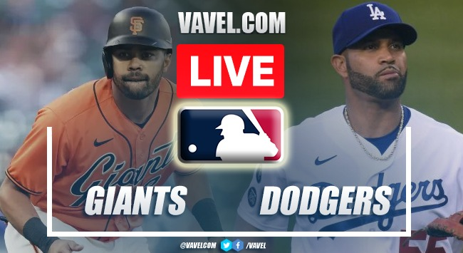 Highlights: San Francisco Giants 6-4 Los Angeles Dodgers in MLB 2021