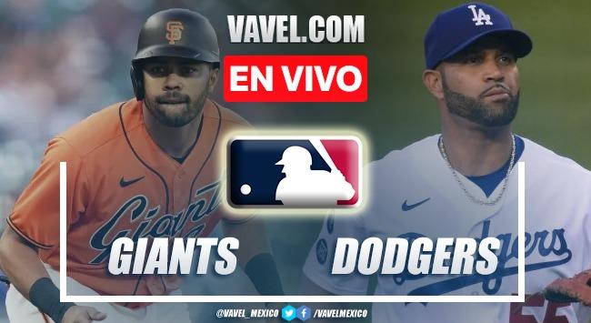 Resumen del San Francisco Giants 6-4 Los Ángeles Dodgers en MLB 2021