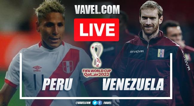 Goal and Highlights: Peru 1-0 Venezuela in FIFA 2022 World Cup Qualifiers