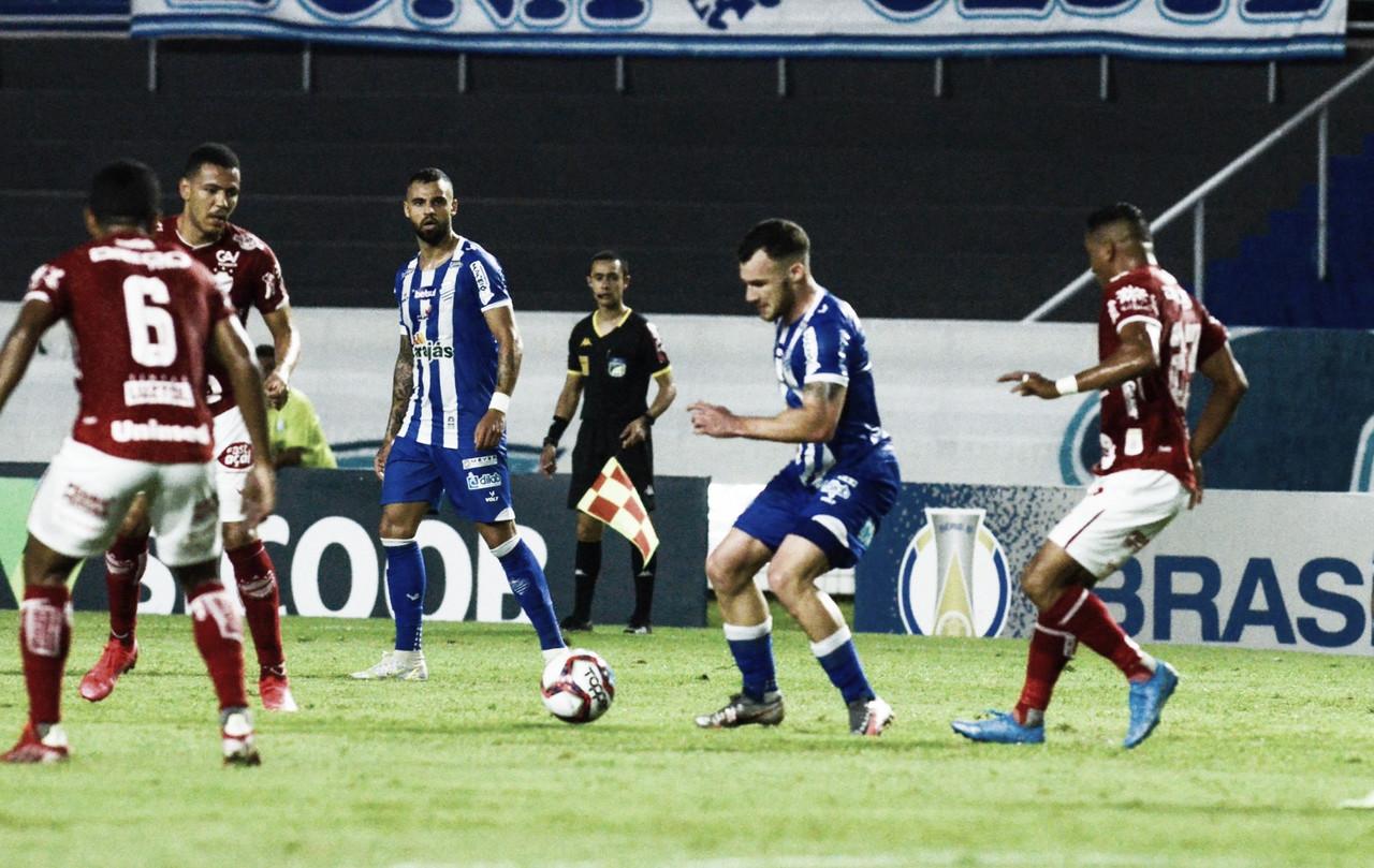 CSA sai na frente, mas cede empate ao Vila Nova no final