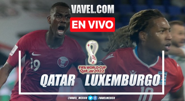 Goles y resumen del Luxemburgo 1-1 Qatar en partido amistoso