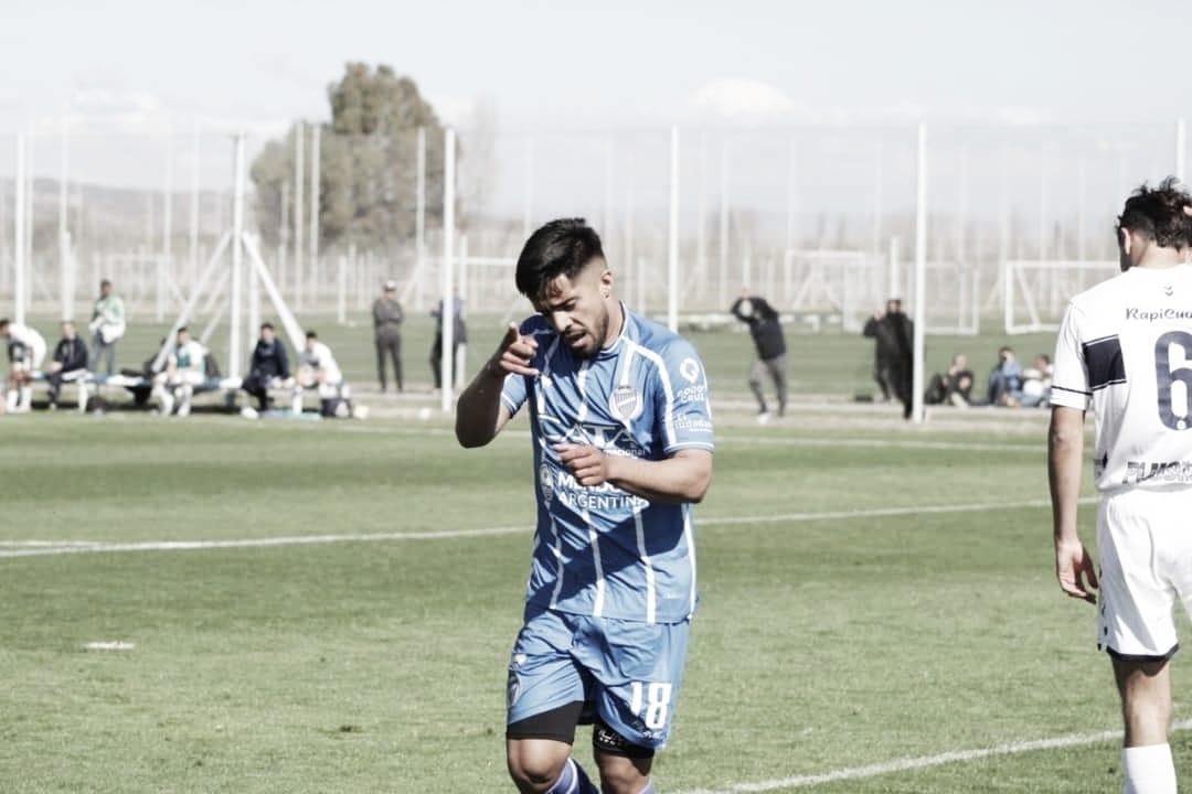 Nahuel Ulariaga volvió a jugar tras 8 meses de parate por una seria lesión