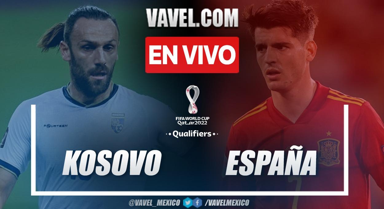 Resumen y goles Kosovo 0-2 España en la fecha 6 de las eliminatorias al Mundial 2022