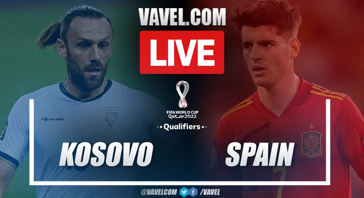 Goals and Highlights: Kosovo 0-2 España in 2022 World Cup Qualifiers