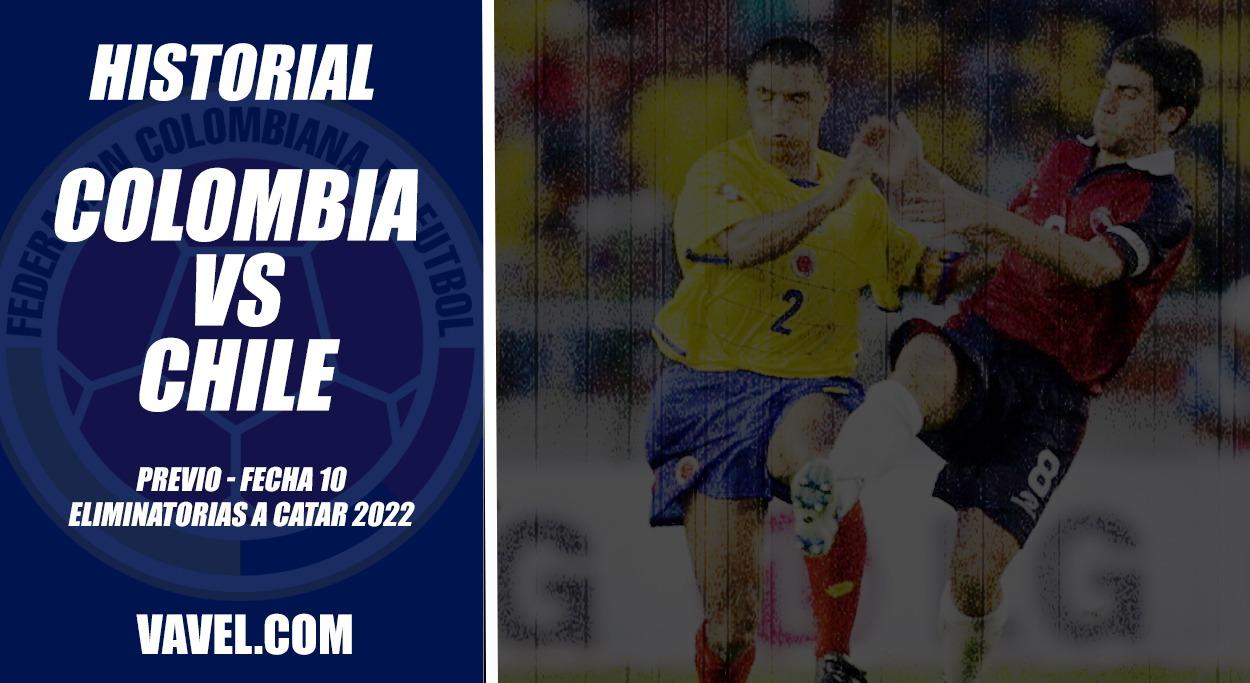 Historial Colombia vs Chile: leve paternidad 'tricolor' en casa