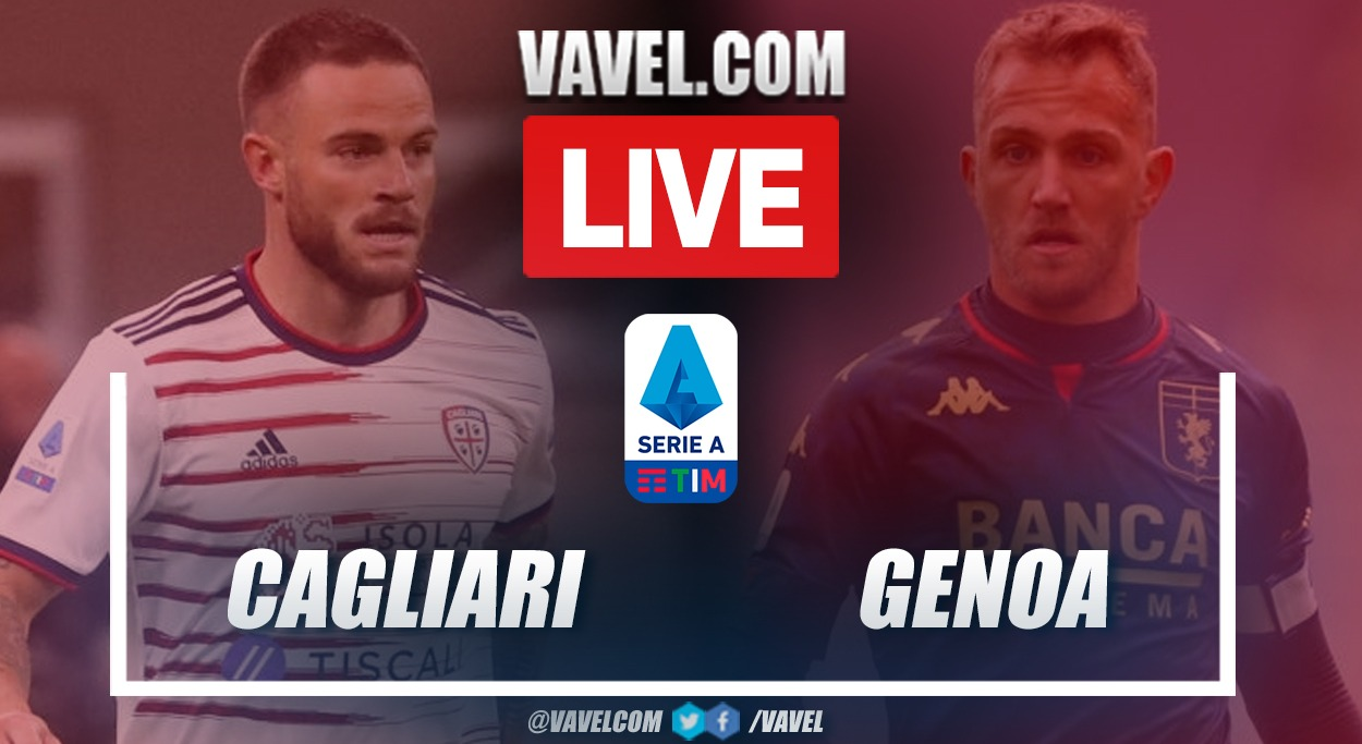 Goals and Highlights: Cagliari 2-3 Genoa at the Serie A