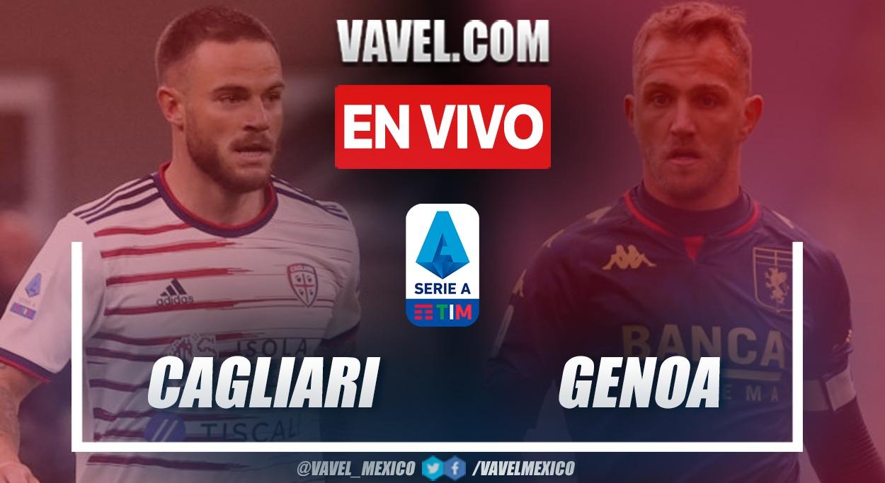 Goles y resumen: Cagliari 2-3 Genoa en Serie A TIM