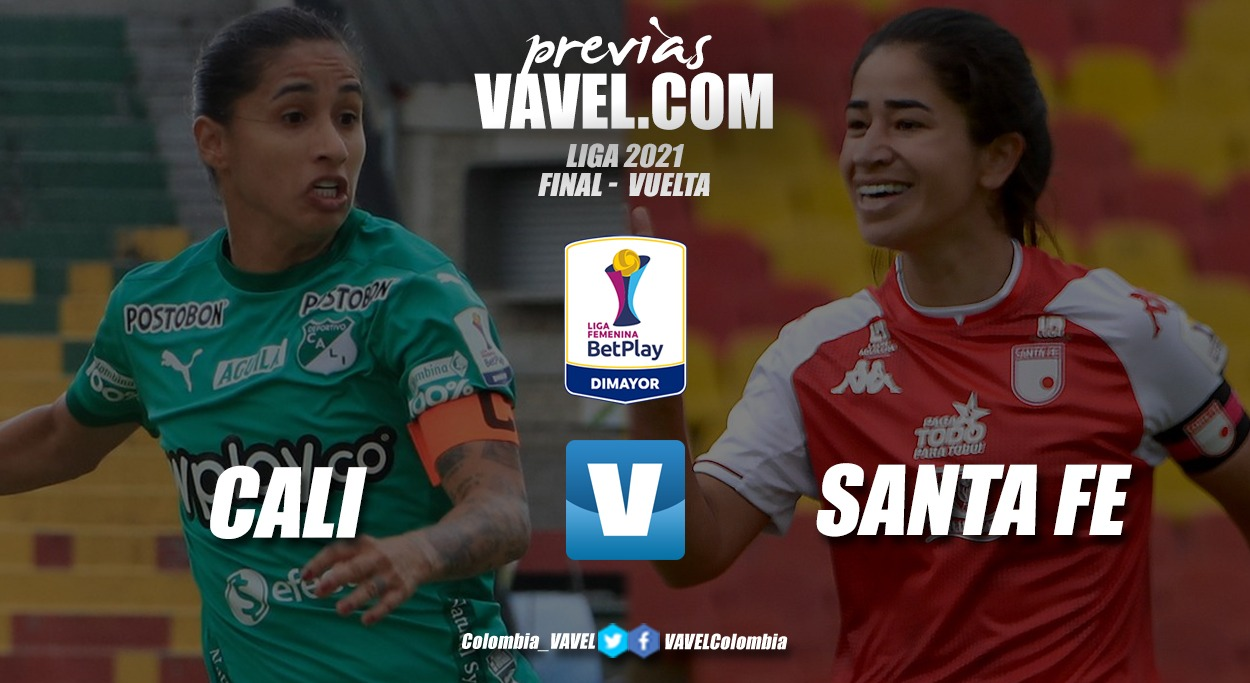 Previa Deportivo Cali vs Independiente Santa Fe: Las caleñas a un paso de su primera estrella femenina pero las 'Leonas' darán la pelea