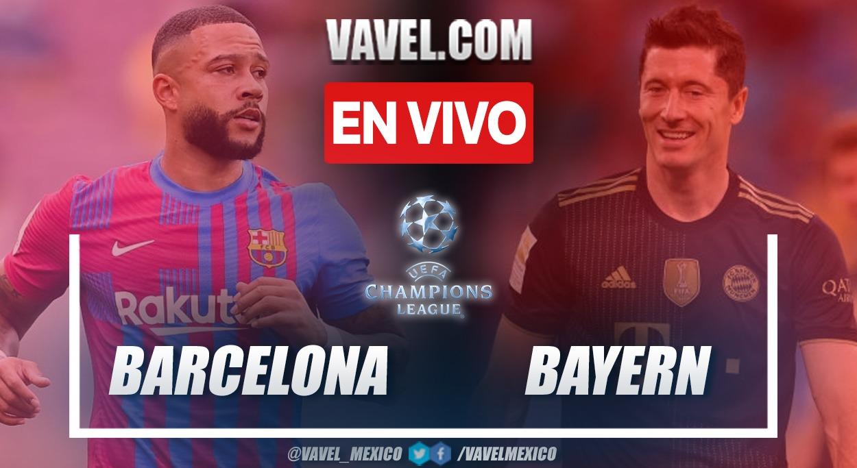 Resumen y goles: Barcelona 0-3 Bayern Múnich en la fecha 1 por Champions League 2021-22