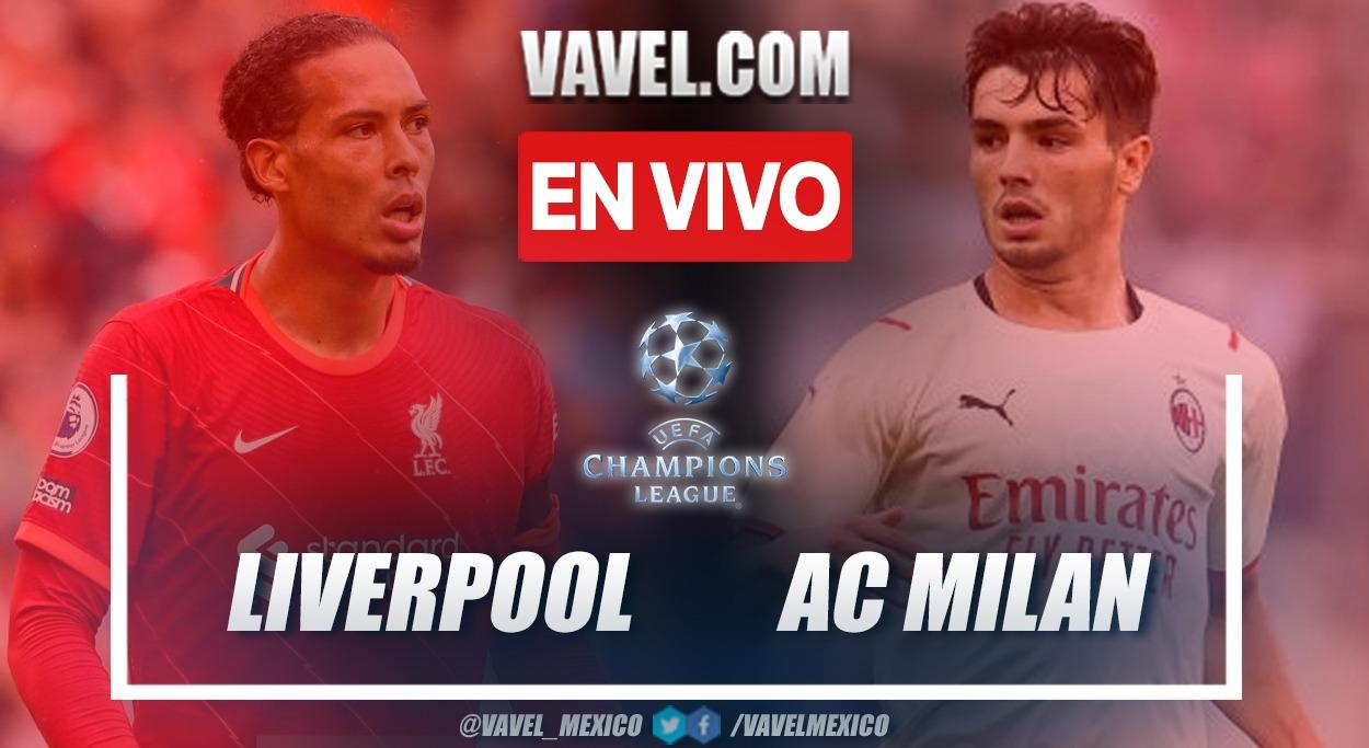Resumen y goles: Liverpool 3-2 AC Milan en la fecha 1 por Champions League 2021-22