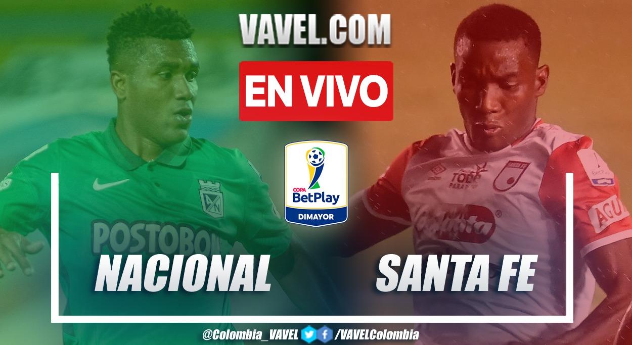 Resumen y goles: Nacional 1 (3) - 0 (1) Santa Fe en la vuelta de los cuartos de final de la Copa BetPlay 2021
