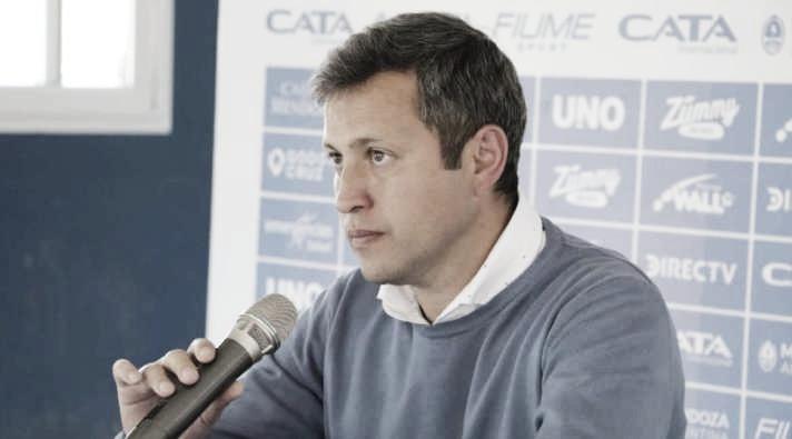 Diego Flores: ''El empate sobre la hora le hace bien al equipo''
