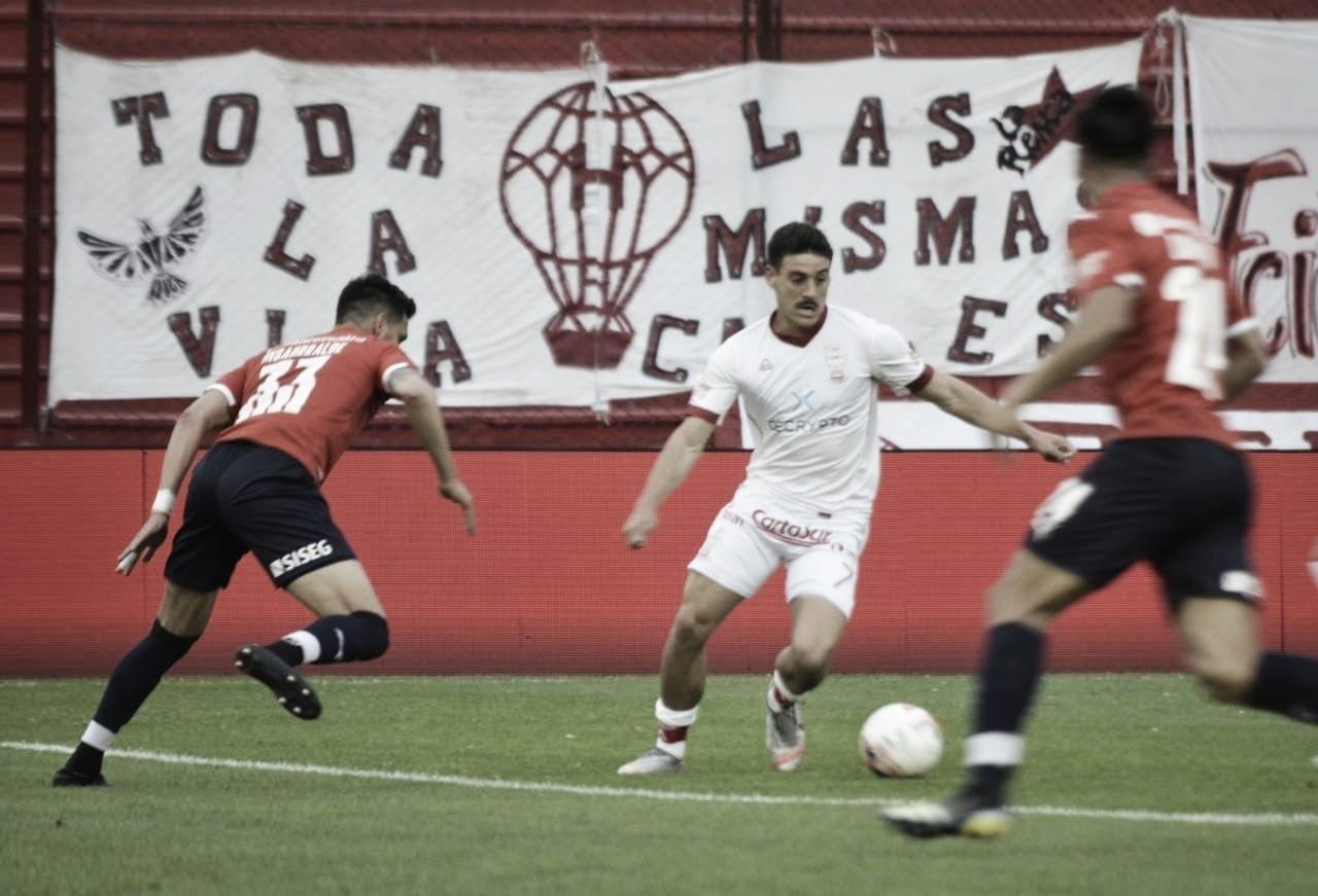 En Parque de los Patricios, Huracán cayó por la mínima ante Independiente