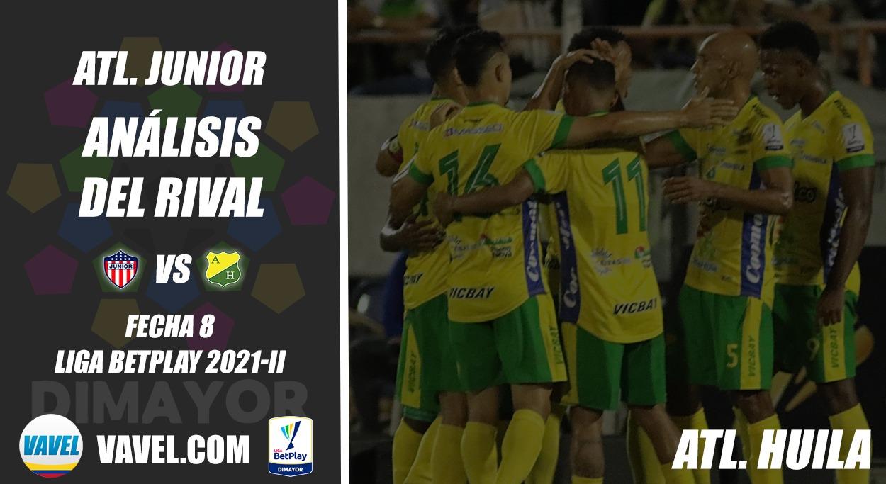 Junior de Barranquilla, análisis del rival: Atlético Huila (Fecha 8, Liga 2021-II)