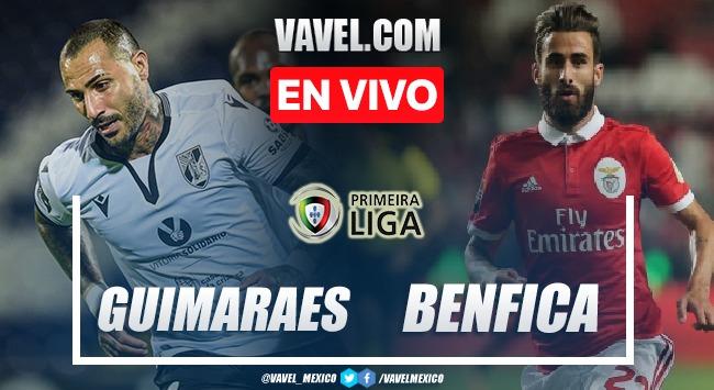 Resumen y goles: Guimaraes 1-3 Benfica en Primeira Liga 2021