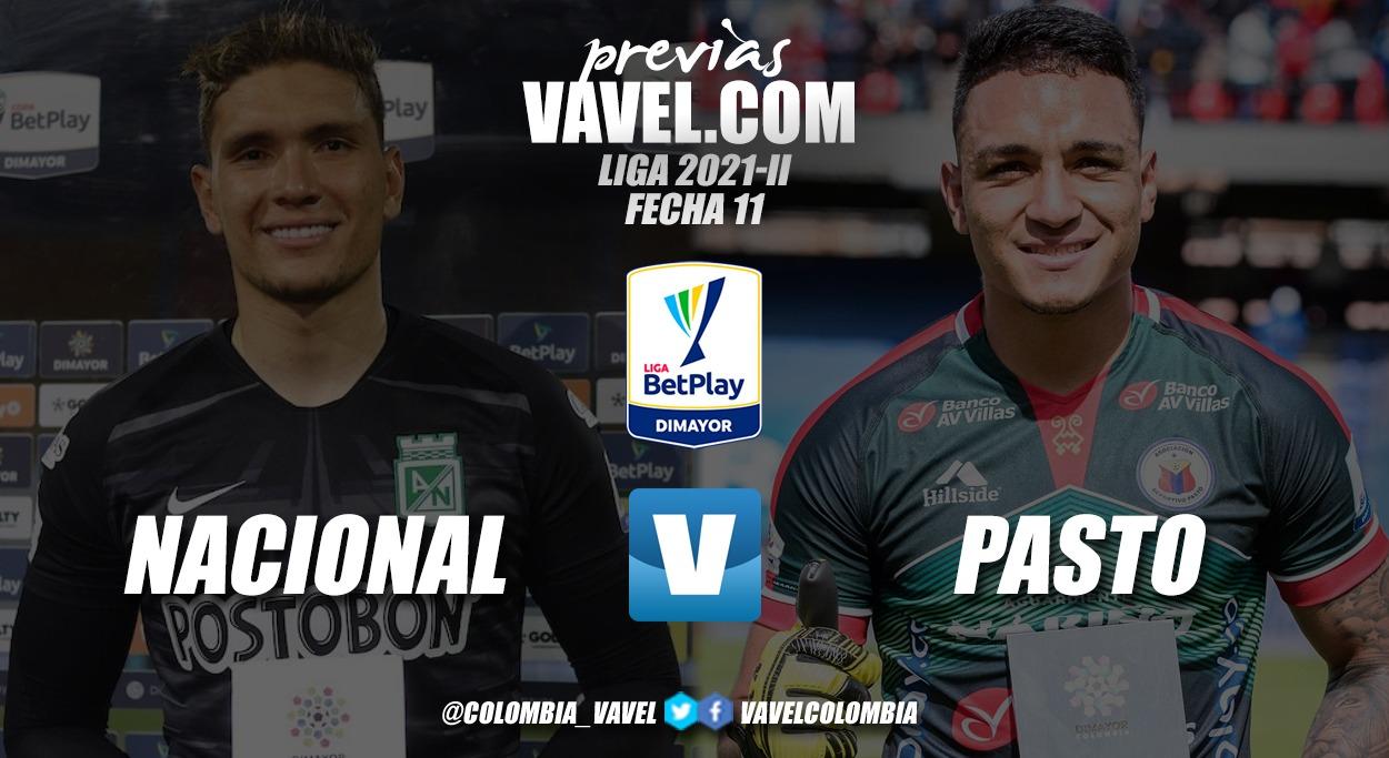 Previa Atlético Nacional vs Deportivo Pasto: A ratificar la clasificación verdolaga