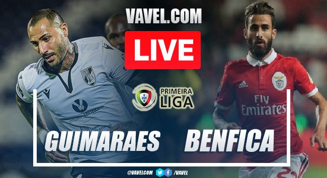 Guimaraes vs Benfica LIVE: Score Updates (1-3)