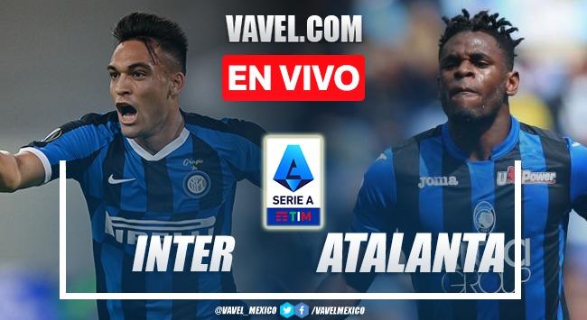 Goles y resumen del Inter 2-2 Atalanta en Serie A