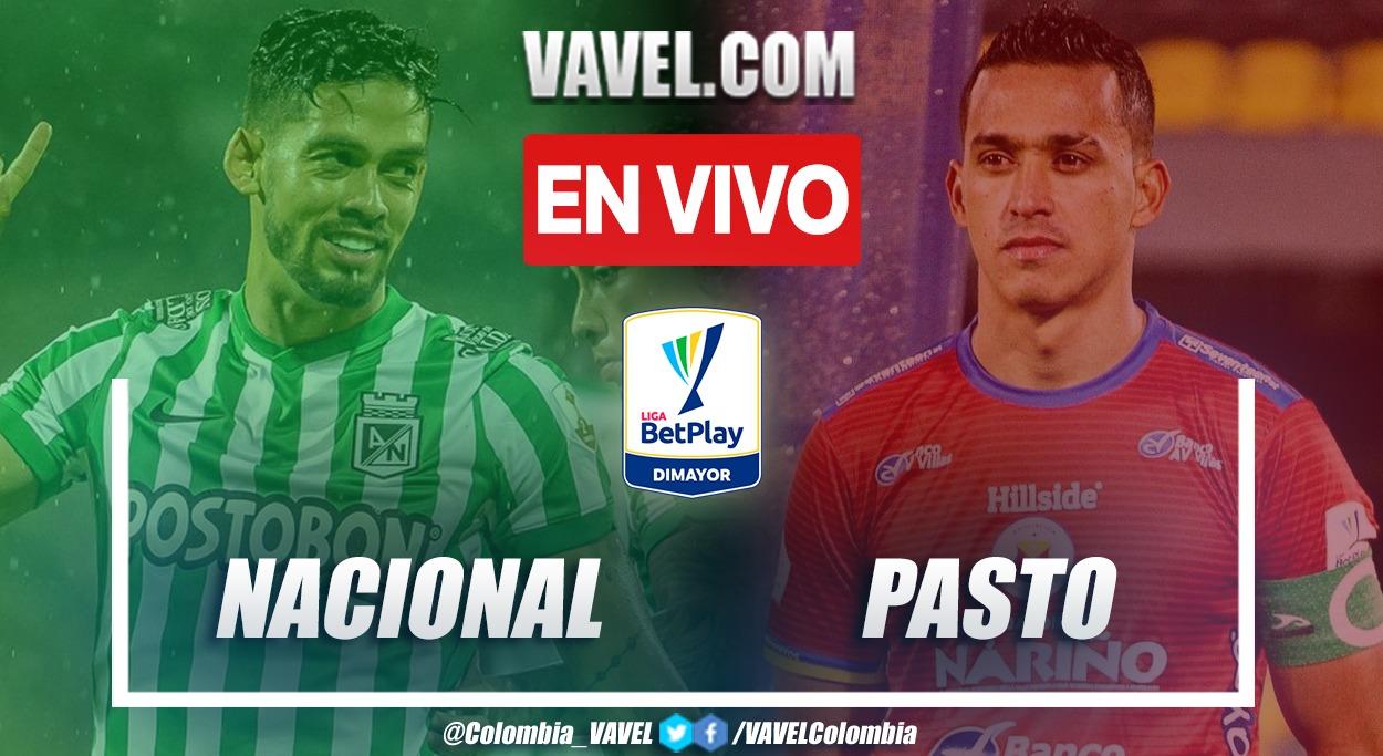 Resumen y goles: Nacional 1-1 Deportivo Pasto en la fecha 11 por Liga BetPlay 2021-II