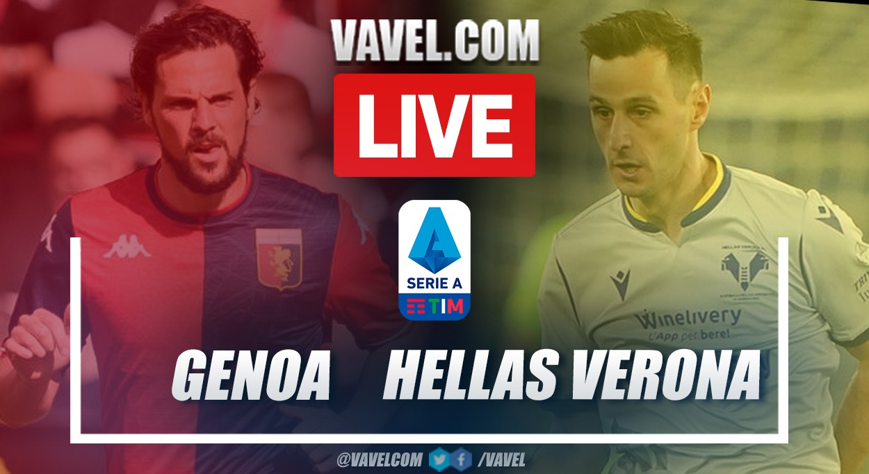 Goals and Highlights: Genoa 3-3 Hellas Verona in Serie A 2021-22