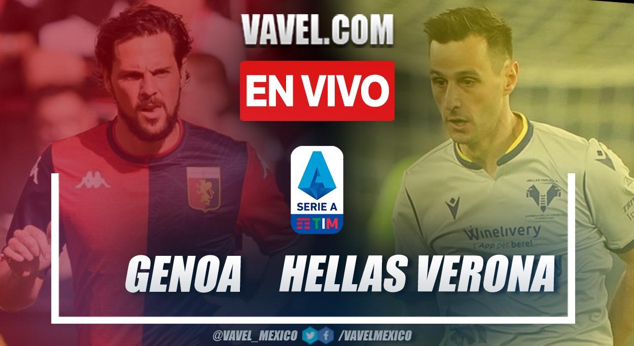 Resumen y goles: Genoa 3-3 Hellas Verona en la fecha 6 por Serie A 2021-22