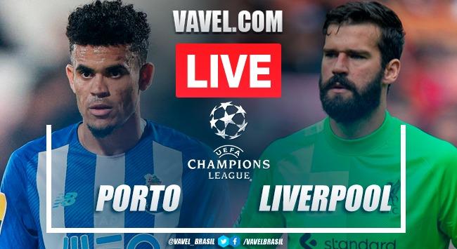 Gols e melhores momentos para Porto 1x5 Liverpool pela Champions League
